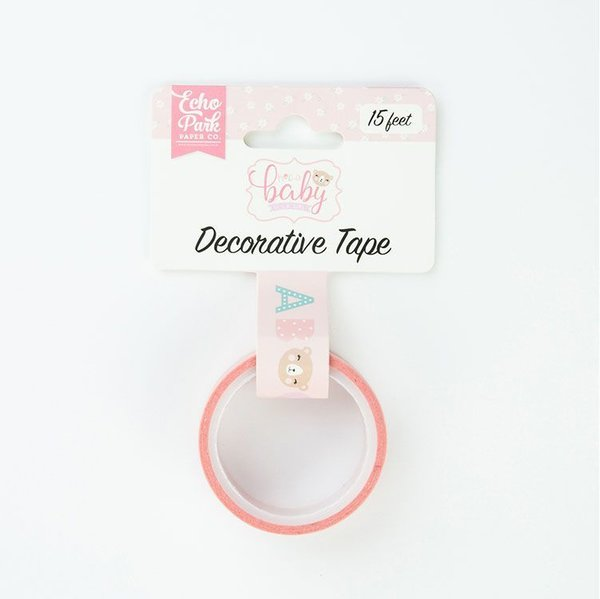 Masking tape Hello Baby Girl Echo Park (OBG171026)