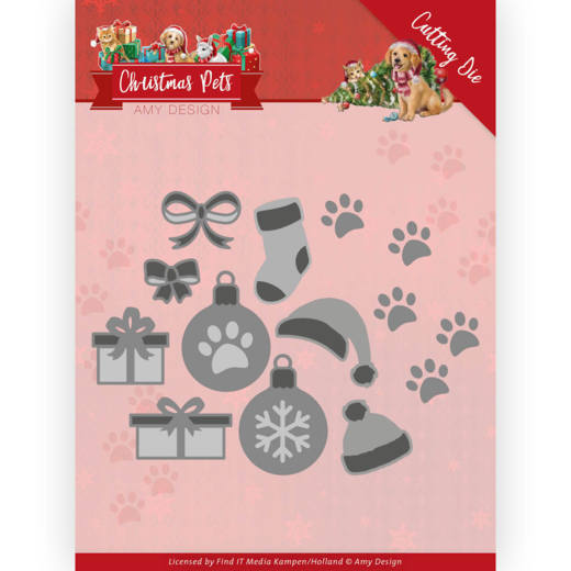 Dies Christmas Pets - Christmas decorations (ADD10215)